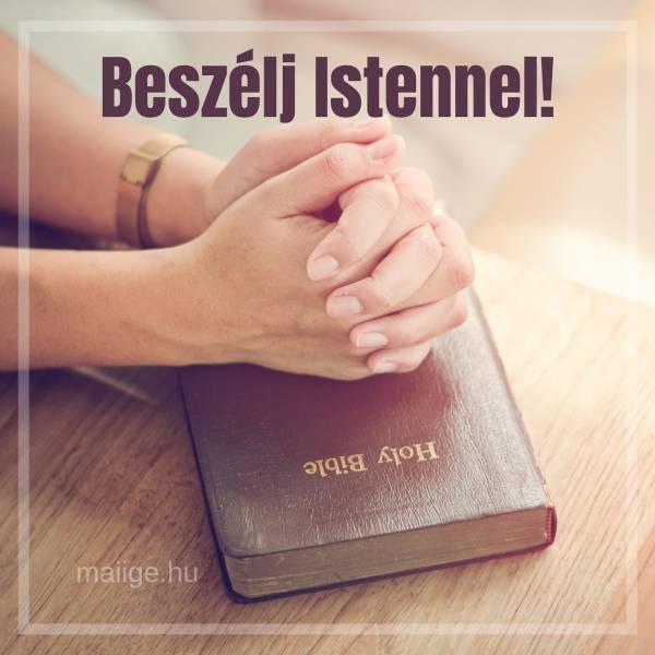 Beszélj Istennel!